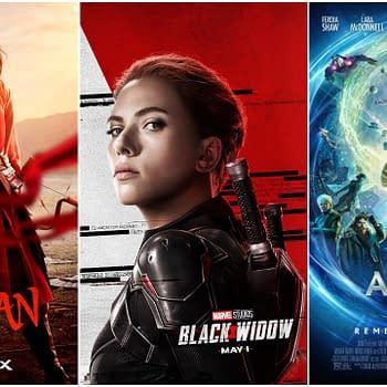 Black Widow to November Mulan to July Artemis Fowl to Disney+