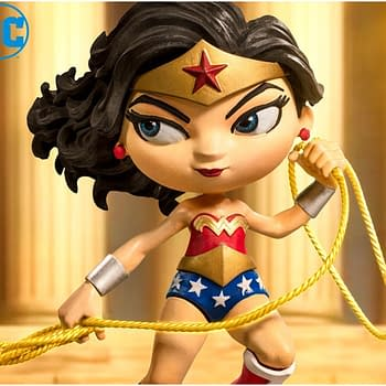 Wonder Woman Receives a New Minico Statue from Iron Studios