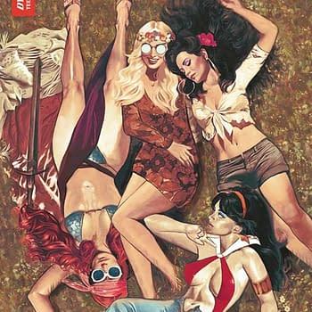 Amy Chu Writer Commentary- Red Sonja/Vampirella/Betty/Veronica #10