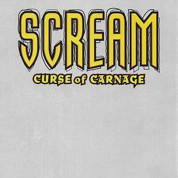 The Scream #1 Variant Back Cover.