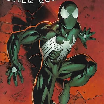 The Symbiote Spider-Man Alien Reality #1 Variant Front Cover.