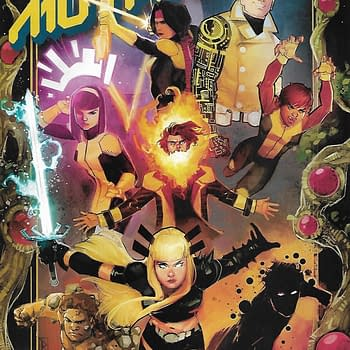 New Mutants #1 Variant Front Cover.