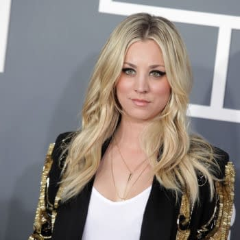 Kaley Cuoco arrives to the 2013 Grammy Awards on February 10, 2013 in Hollywood, CA. Editorial credit: DFree / Shutterstock.com