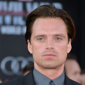 """April 12, 2016: Actor Sebastian Stan at the world premiere of """"Captain America: Civil War"""" at the Dolby Theatre, Hollywood. Editorial credit: Featureflash Photo Agency / Shutterstock.com"""