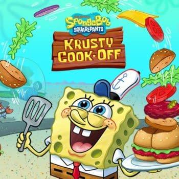 SpongeBob Krusty Cook-Off Full Artwork