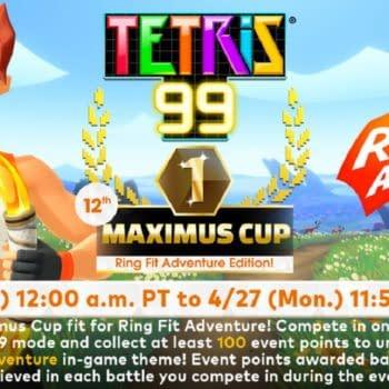 Tetris 99 Ring Fit Adventure Maximus Cup