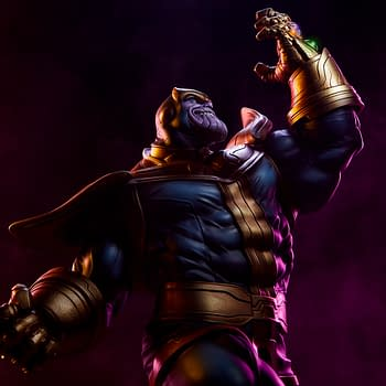 Thanos Brings Infinity with New Sideshow Collectible Statues