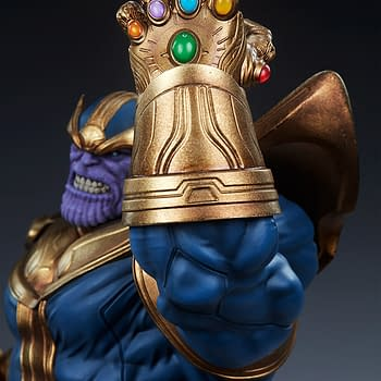 Marvel Thanos Sideshow Collectibles Statue