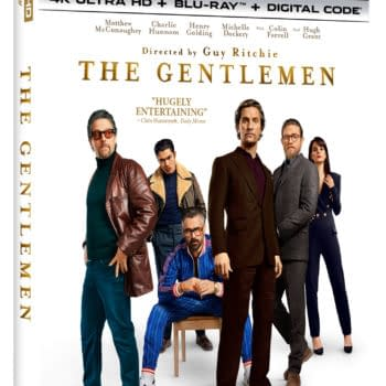 The Gentlemen 4k Cover