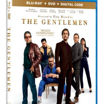 The Gentlemen Blu-Ray Cover