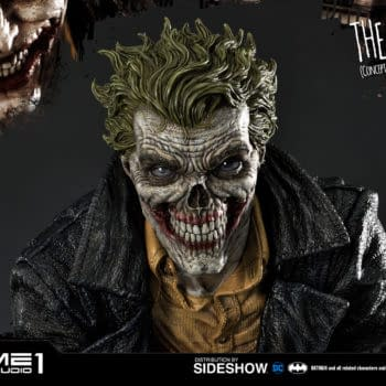 The Joker Concept Design Statue from Prime 1 Studio