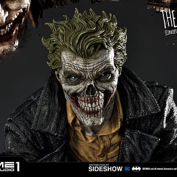 The Joker Gets a Concept Designed Statue from Prime 1 Studio