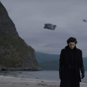 This first image from Dune features Timothée Chalamet as Paul Atrides.