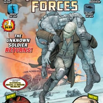 Jim Lee has a story in DC's Fighting Forces