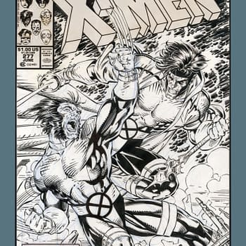 Jim Lee Original X-Men Artwork to Be Republished as Artists Edition