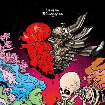 Simon Bisley and Liana Kangas Cover For Environmental Graphic Novel