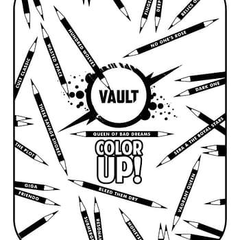 Vault Comics Releases a Free Digital Coloring Book