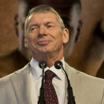 WWE chairman Vince McMahon at the Wrestlemania Press Conference in New York's Hard Rock Cafe on March 26, 2008. Editorial credit: George Koroneos / Shutterstock.com