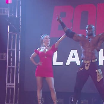 Aleister Black vs Bobby Lashley WrestleMania 36 Results