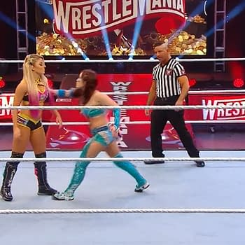 WrestleMania 36 Alexa Bliss and Nikki Cross vs The Kabuki Warriors