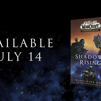 World Of Warcraft: Shadows Rising Book Cover Is Revealed
