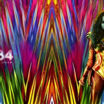 A Wonder Woman 84 virtual background for Zoom video conferencing.