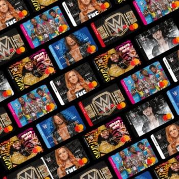 WWE's new lineup of prepaid debit cards.