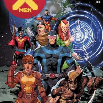 The cover to X-Men #1 from Marvel Comics, hitting Marvel Unlimited in April.
