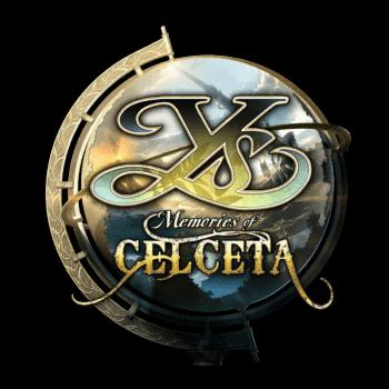 Ys Memories of Celceta Main Logo