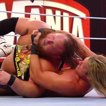 Dolph Ziggler vs Otis for Love of Mandy Rose WrestleMania 36 Results