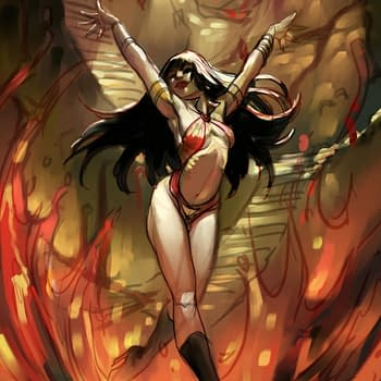 Meghan Hetrick Live Tonight Painting Vampirella Covers For Dynamite