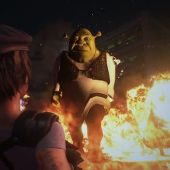 This Resident Evil 3 mod has Shrek chasing you down instead of Nemesis.