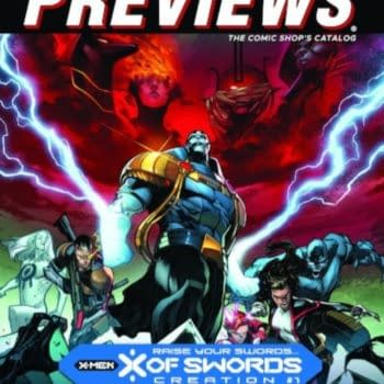 X Of Swords and Seven Secrets on Next Week's Diamond Previews Covers