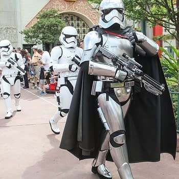 Stormtroopers are at Disney Springs Enforcing Social Distancing