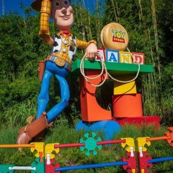 Toy Story Land in Hollywood Studios in Walt Disney World. Image Credit: Baltimore Lauren