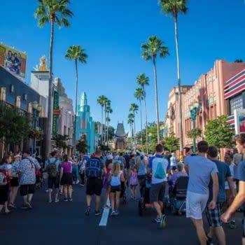 Wearing a Mask in Disney