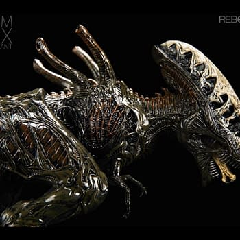 The Xenomorph Swarm X-Rex Returns with Plague Variant from Rebor