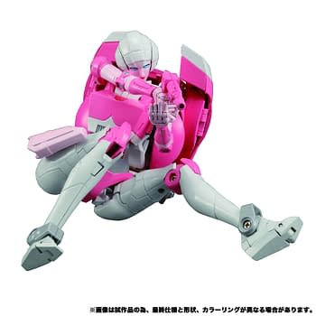 Transformers Masterpiece Arcee Races on in with Hasbro Pulse