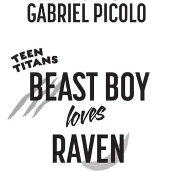 Beast Boy Loves Raven Graphic Novel by Kami Garcia and Gabriel Picolo