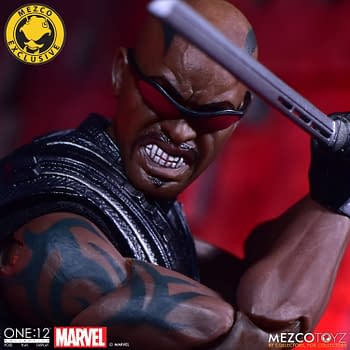 Blade Faces the Daylight with Mezco Toyz Exclusive Figure