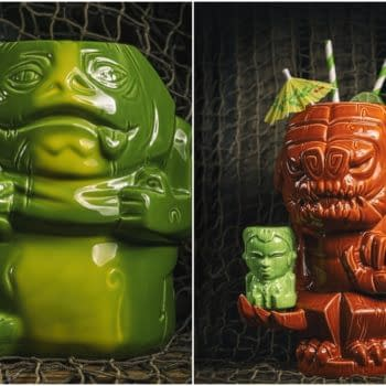 Toynk has a new Rancor and Jabba The Hutt Tiki Mugs available now.