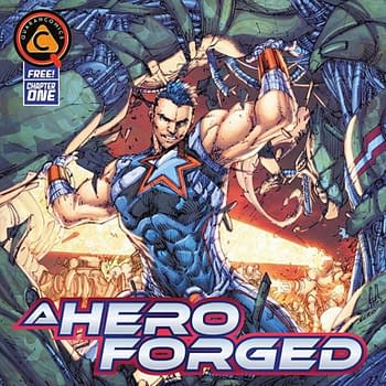 Brett Booth and Scott Lobdells New Instagram Comic A Hero Forged