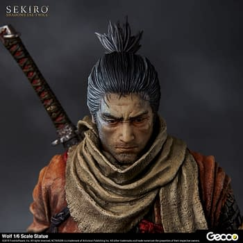 Sekiro Stalks the Shadows in New Statue from Gecco