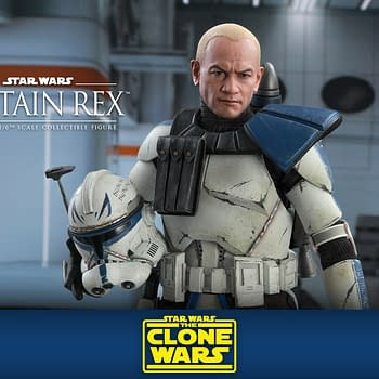 Star Wars: The Clone Wars Captain Rex Comes to Life with Hot Toys