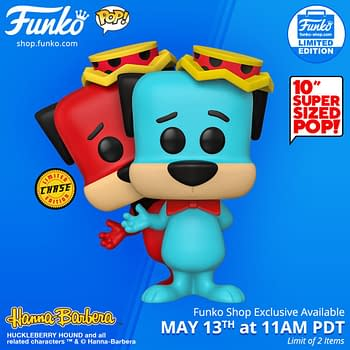 Funko Huckleberry Hound 10 with Chance of Chase Drops Today
