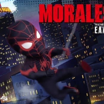 Miles Morales Spider-Man Egg Attack Action from Beast Kingdom