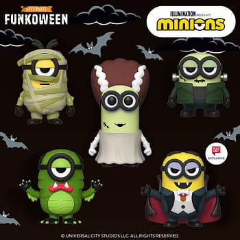 Minions Crossover with Universal Monsters for New Funko Pops