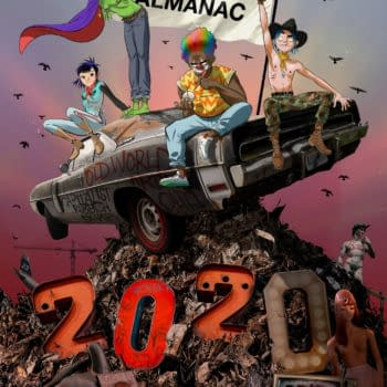 Gorillaz Finally Get Their Own Comics in GorillazAlmanac Annual