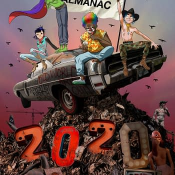 Gorillaz Finally Get Their Own Comics in Gorillaz Almanac Annual