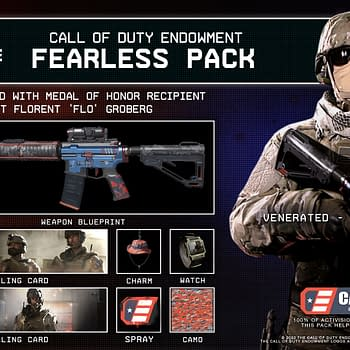 Call of Duty Endowment Reveals Fearless Pack &#038 Warzone T-Shirt
